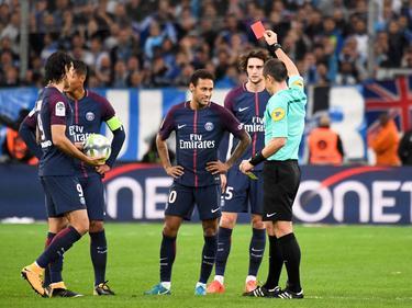 Neymar flog gegen Marseille vom Platz