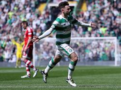 Patrick Roberts traf gegen Aberdeen doppelt