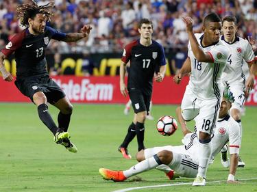Jermaine Jones (l.) und Co. verlieren gegen Kolumbien