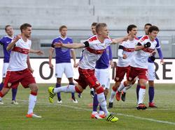 Der VfB Stuttgart ließ Erzgebirge Aue keine Chance und gewann mit großem Abstand