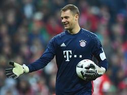 Manuel Neuer wurde zum vierten Mal in Folge zum Welttorhüter gewählt