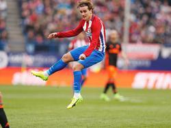 Antonie Griezmann schoss Atlético zum Sieg