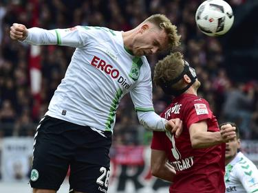 Die Fürther konnten den Tabellenführer VfB Stuttgart bezwingen