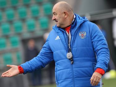 Trainer Stanislav Cherchesov bereitet sich mit Russland auf die WM im eigenen Land vor