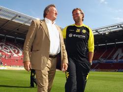 Pflegen bis heute ein freundschaftliches Verhältnis: Harald Strutz und Jürgen Klopp