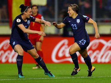 England feiert seinen zweiten Sieg bei der Frauen-EM in den Niederlanden