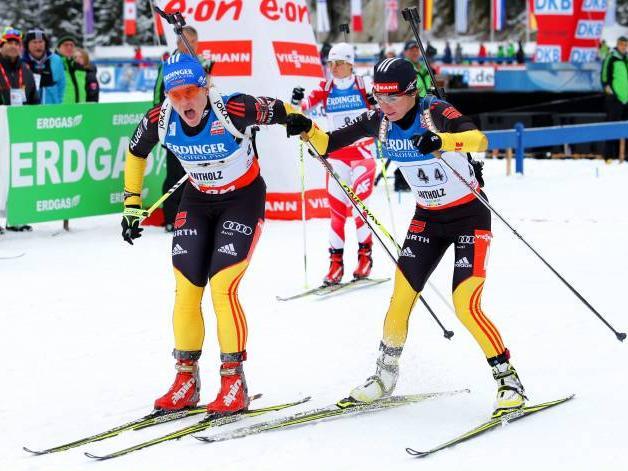 Biathlon: Nach dem Sieg ist kurz vor der WM