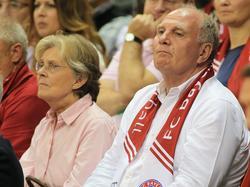 Hoeneß (r.) könnte schon bald wieder FCB-Präsident sein