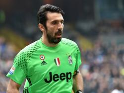 Juventus-Keeper Gianluigi Buffon hielt die Null fest