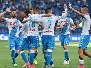 El Nápoles se medirá al Niza en la previa de Liga de Campeones. (Foto: Getty)