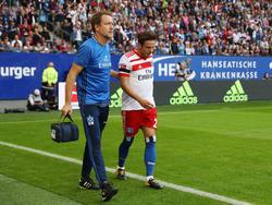 Nicolai Müller hat sich gegen den FC Augsburg einen Kreuzbandriss zugezogen