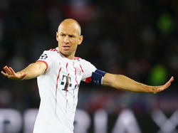 Arjen Robben will sich zur Aufstellung der Bayern nicht äußern