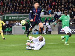 Zlatan Ibrahimović erzielt beide Tore für PSG
