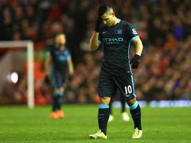 Kun Agüero und seine Citizens können die Saison wohl nur noch durch die Champions League retten