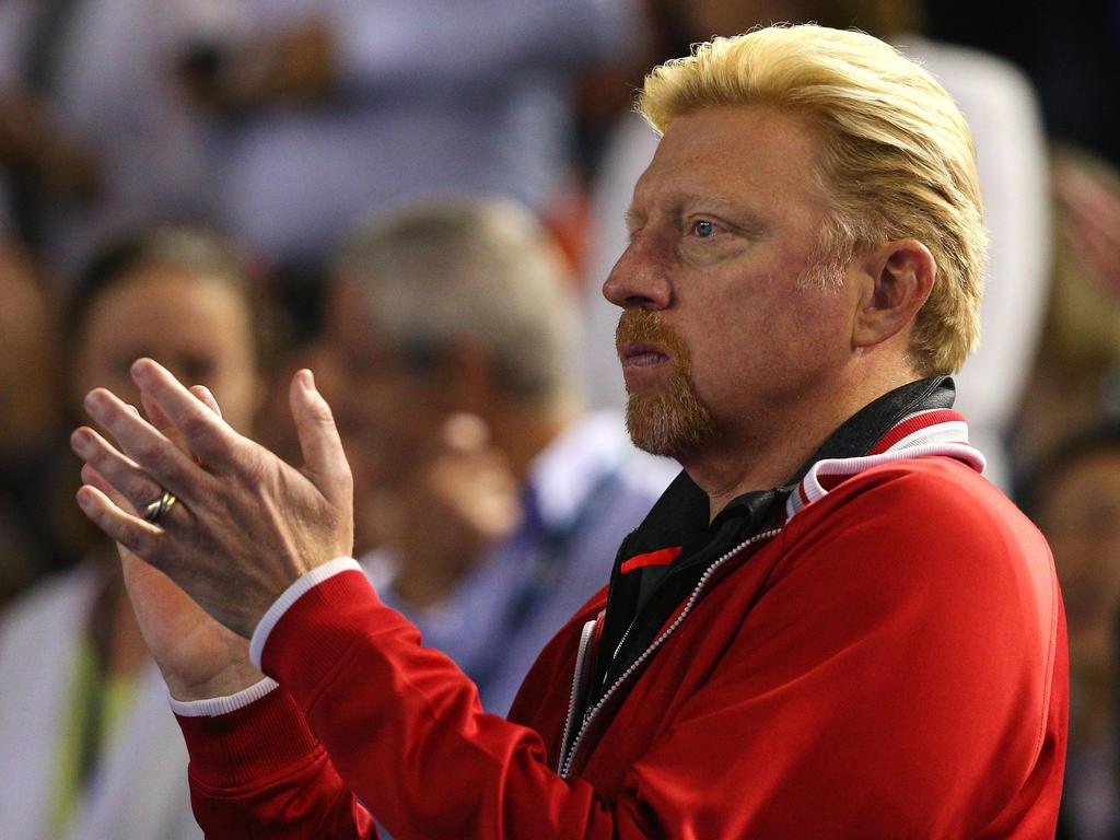 Boris Becker unterstützt das Team in Hannover