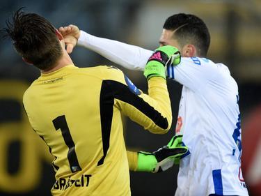 Hajradinović hat seinem Torwart ins Gesicht geschlagen