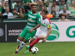 Gnabry am Ball