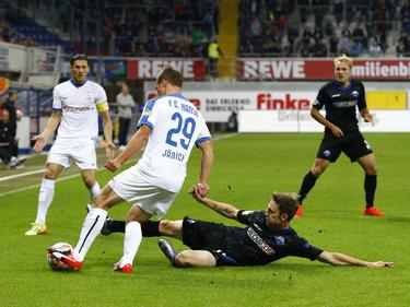 Der SC Paderborn kommt in der 3. Liga nicht in Fahrt