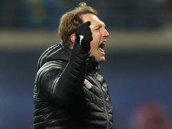 Ralph Hasenhüttl kassierte mit RB Leipzig die erste Bundesliga-Niederlage