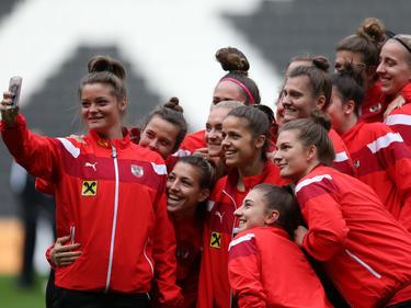 ÖFB-Frauen-Nationalteam vor dem Test gegen England