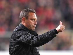 André Breitenreiter trifft am Wochenende mit Hannover 96 auf den FC Augsburg
