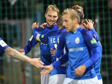Hansa Rostock feierte einen überraschend deutlichen Sieg in Haching