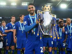 Mahrez' größter Erfolg: Der Meistertitel mit Leicester City