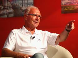 Franz Beckenbauer steht im Fokus