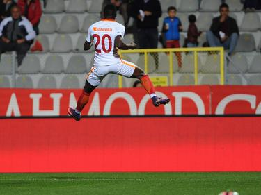 Bruma feierte seinen Treffer mit einem hohen Luftsprung