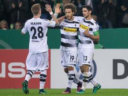 Mönchengladbach zieht ungefährdet ins Achtelfinale ein