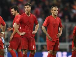 Xabi Alonso und Rafinha gehören zu den alten Eisen im Bayern-Kader
