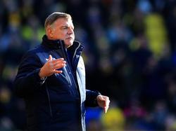 Sam Allardyce kehrte beim Spiel gegen den FC Watford auf einen Trainerstuhl der Premier League zurück: Er coacht nun Crystal Palace. (26.12.2016)