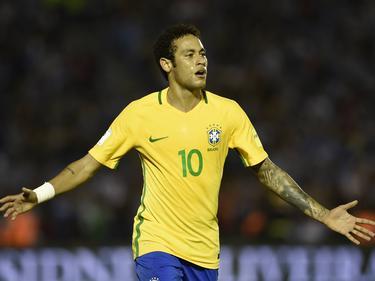 El 10 carioca volvió a aparecer en su cita con el gol. (Foto: Imago)