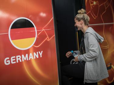 Steigt nicht mehr in den DFB-Team-Bus: Anja Mittag