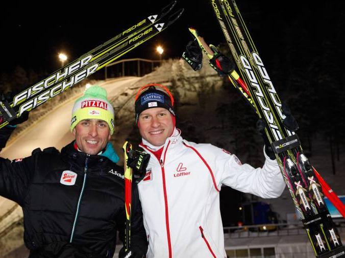 Nordische Kombination: Doppel-Weltmeister Österreich