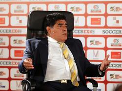 Maradona sieht den argentinischen Fußball am Boden