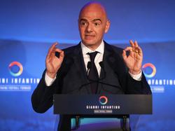 FIFA-Boss Gianni Infantino hat konkrete Pläne zur Vergrößerung der WM