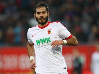 Halil Altıntop wird zur Zeit im Sturm des FC Augsburg eingesetzt
