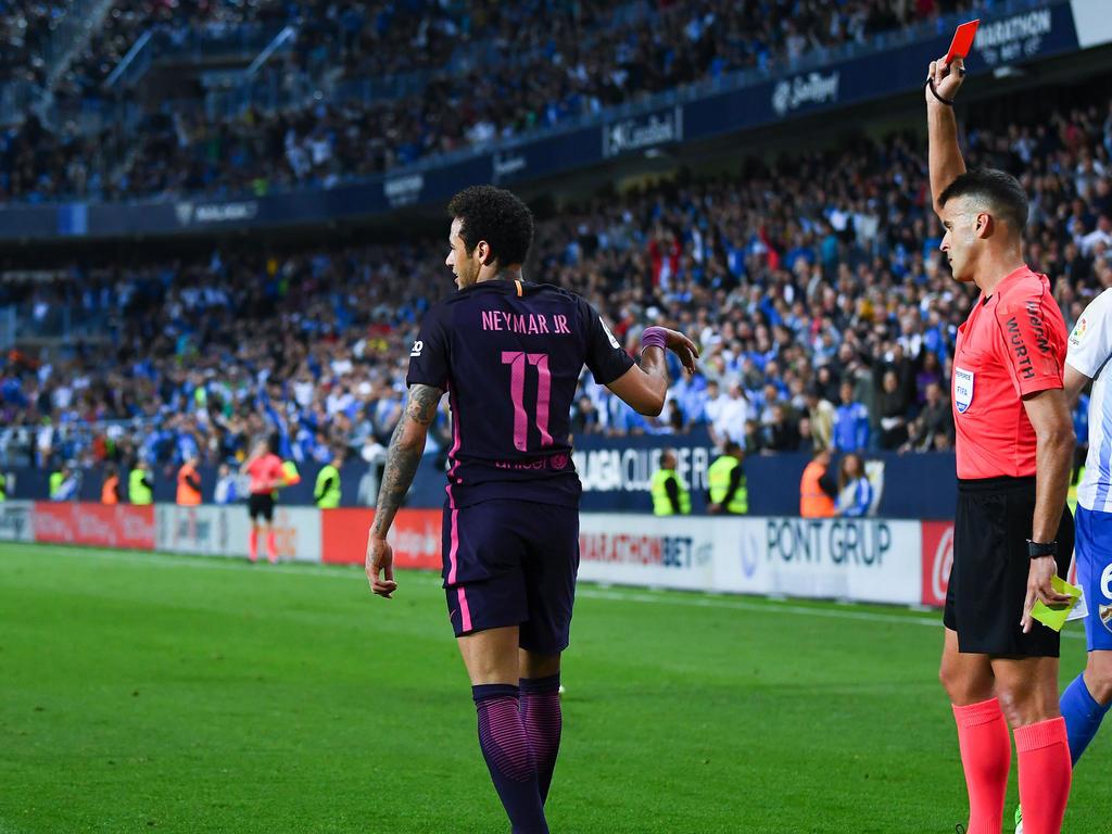 Lionel Messi (FC Barcelona) musste im Clasico bei Real Madrid ordentlich einstecken
