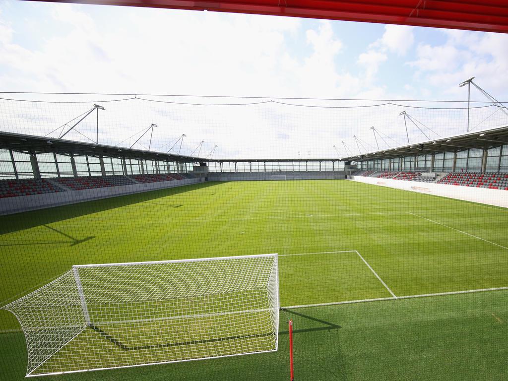 Die neue Spielstätte fasst 2.500 Sitzplätze