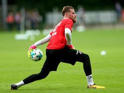 Timo Horn vom 1. FC Köln hat am Mittwoch individuell trainiert