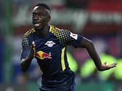 RB Leipzig muss möglicherweise gegen Frankfurt auf Jean-Kévin Augustin verzichten