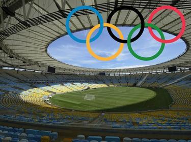 Das Maracanã - Spielort des Olympischen Finales