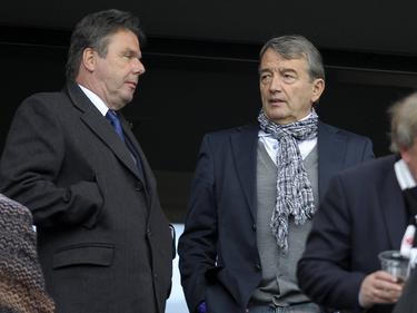 Heribert Bruchhagen (l.) hält zu Ex-DFB-Präsident Wolfgang Niersbach