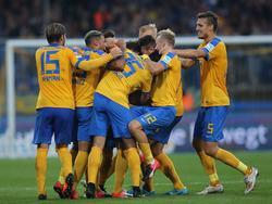 Eintracht Braunschweig bleibt tonangebend in der 2. Liga
