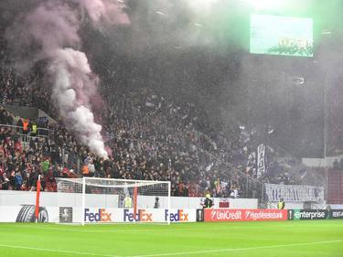 Hooligans des RSC Anderlecht provozierten einen Polizeieinsatz in Mainz