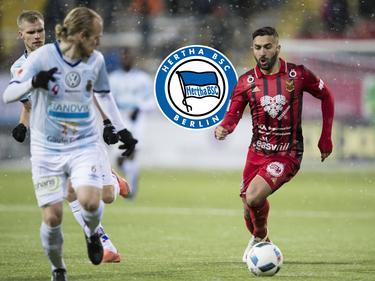 Saman Ghoddos (r.) steht im Visier von Hertha BSC