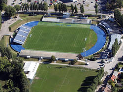 Das alte Wr. Neustädter Stadion soll endlich durch eine - für die Bundesliga zu kleine? - Arena ersetzt werden