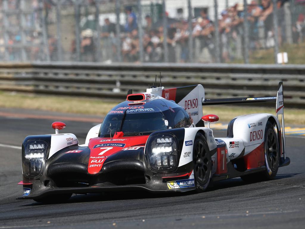 Kamui Kobayashi ist über seinen Ausfall in Le Mans sehr enttäuscht