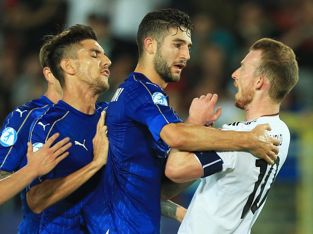 In einer umkämpften Partie ging Deutschland als Verlierer vom Feld
